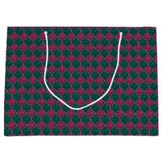 MQF Sequins-PLUM-JADE-GIFT BAG L