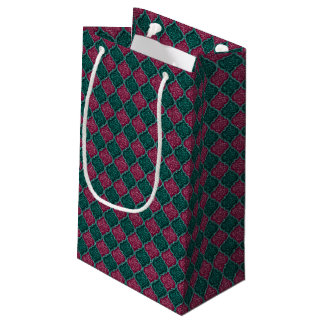MQF Sequins-PLUM-JADE-GIFT BAG S