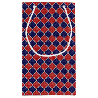 MQF Sequins-RW-DARK BLUE-GIFT BAG S