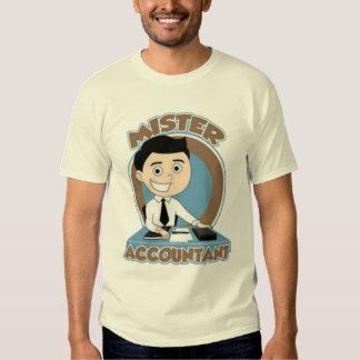 Mr. Accountant Tshirt