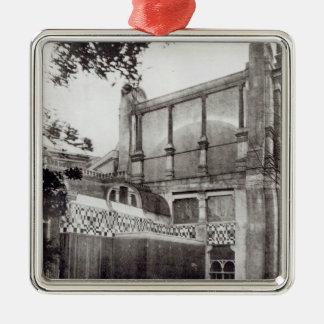 Mr. Alma Tadem's House, North Side, 1889 Christmas Ornament