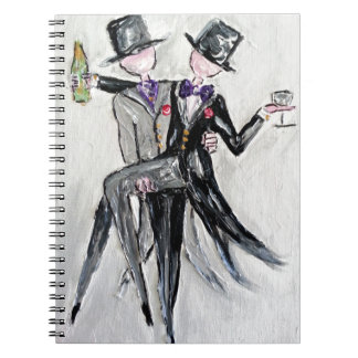 Mr and Mr Wedding cards and gifts Notebooks