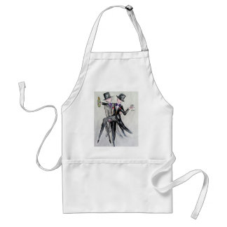 Mr and Mr Wedding cards and gifts Standard Apron