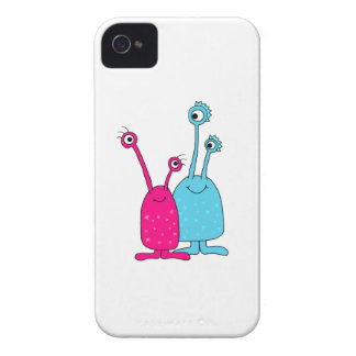 Mr and Mrs Alien iPhone 4 Case
