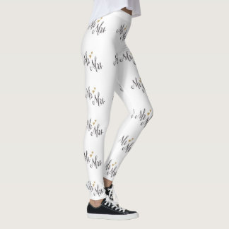 *** MR. AND MRS.*** BRIDE OR BRIDE TO BE LEGGINGS