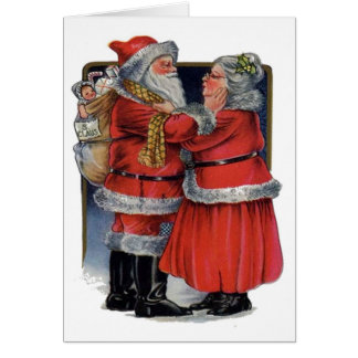 Mr and Mrs Claus Card