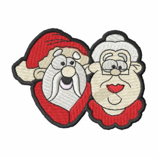 Mr and Mrs Claus Polo