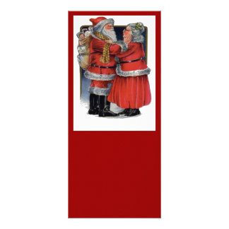 Mr and Mrs Claus Rack Card