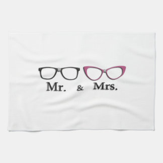 Mr. And Mrs. Geek Kitchen Towels