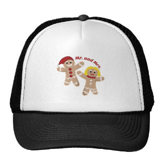 Mr. And Mrs. Mesh Hats