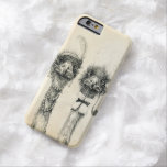 Mr. and Mrs. Ostrich Barely There iPhone 6 Case