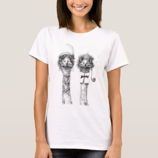 Mr. and Mrs. Ostrich T-Shirt