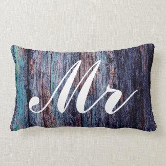 Mr and Mrs Wedding Bedding Lumbar Cushion