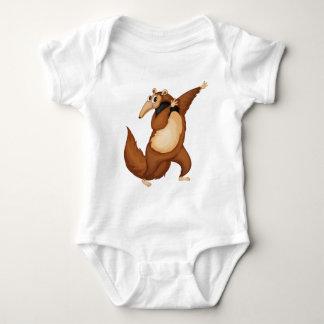 mr anteater baby bodysuit