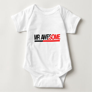 Mr Awesome Baby Bodysuit