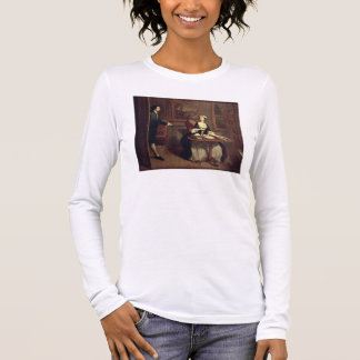 Mr. B. finds Pamela writing, illustration from Ric Long Sleeve T-Shirt