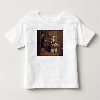 Mr. B. finds Pamela writing, illustration from Ric Toddler T-Shirt