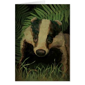 Mr. Badger Card