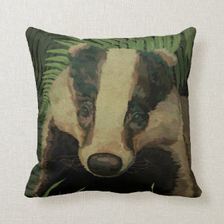 Mr. Badger Cushion