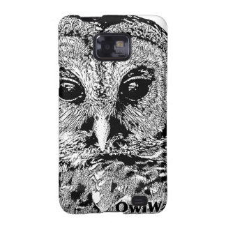 Mr Barred Owl - 2015 Light Background Samsung Galaxy SII Covers