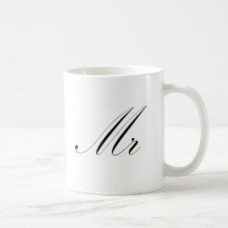 Mr Basic White Mug