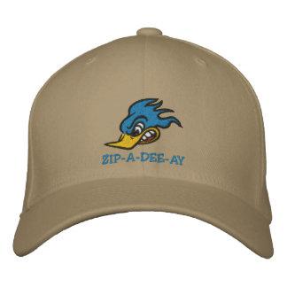 Mr. Bluebird Embroidered Hat