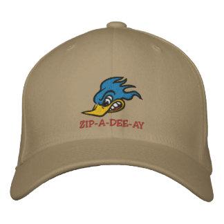 """Mr. Bluebird """"ZIP-A-DEE-AY"""" Embroidered Baseball Cap"""