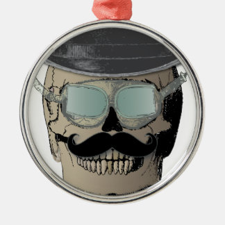 Mr. Bones Steam Punk Time Traveler Christmas Ornament