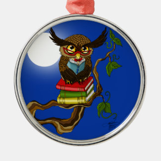 Mr. Books Christmas Ornament