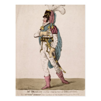 Mr. Braham in the character of Orlando Postcard