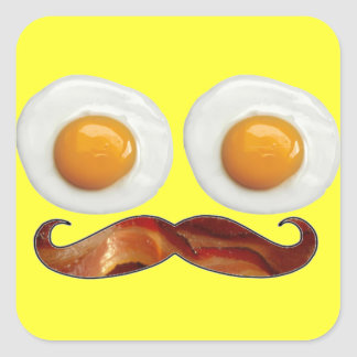 Mr. Breakfast Stickers