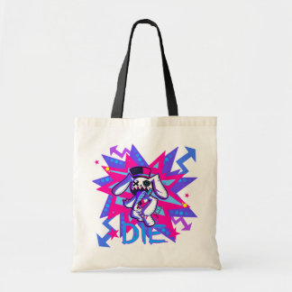 Mr. bunny tote bags