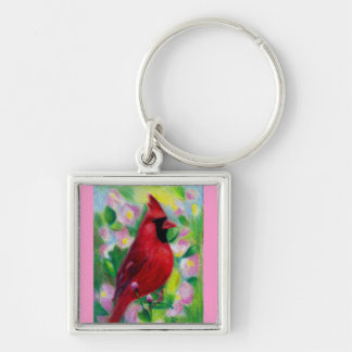 Mr. Cardinal Keychain