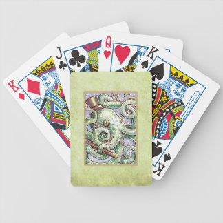 Mr Cephalopod Bicycle Playing Cards