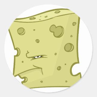 Mr. Cheese Classic Round Sticker