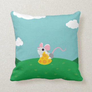 Mr. Cheeseman the Mouse Cushion