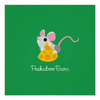 Mr. Cheeseman the Mouse Poster