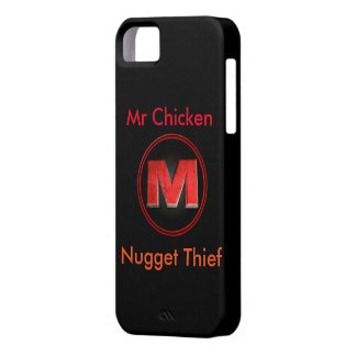 Mr Chicken Nugget Thief's I phone 5/5s case