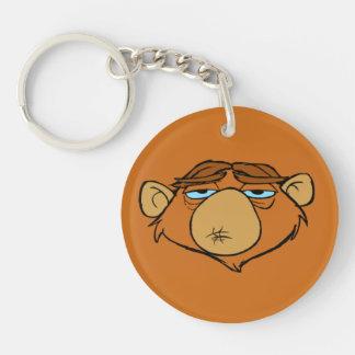 Mr. Chim Single-Sided Round Acrylic Key Ring
