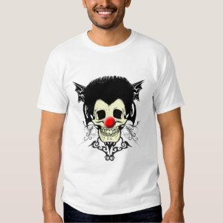 Mr. Clown Black Hair T Shirts
