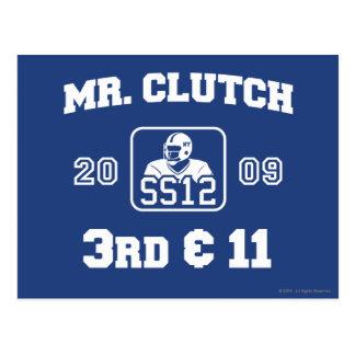 Mr Clutch Post Card