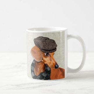 Mr Dachshund Basic White Mug