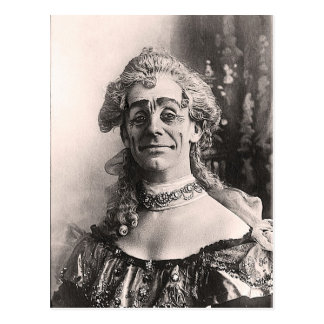 Mr Dan Leno as Mother Goose Postcard