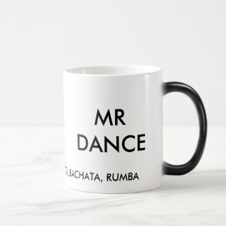 MR DANCE'S CHA CHA COFFEE CUP