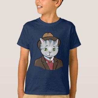 Mr. Dandy Cat - Dark T-shirt