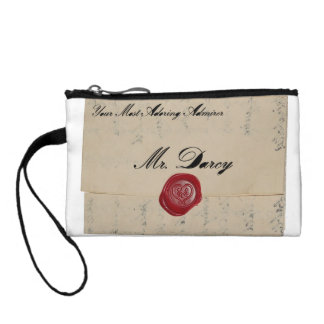 Mr Darcy Love Letter Coin Wallets