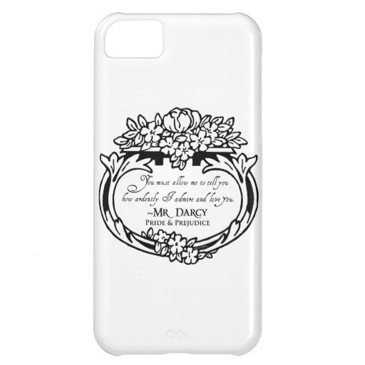 Mr Darcy Loves and Admires Cover For iPhone 5C