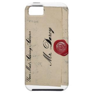 Mr Darcy Regency Era Letter iPhone 5 Cover