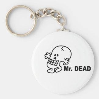 Mr Dead Key Chain