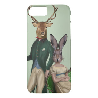 Mr Deer and Mrs Rabbit 2 iPhone 8/7 Case